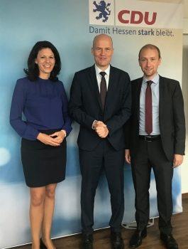 Rückenwind aus Berlin: Fraktionschef Brinkhaus unterstützt Landtagskandidat Max Schad