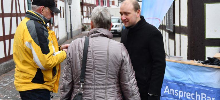 Mit den Bürgern im Gespräch bleiben:  Max Schad stellt Koalitionsvertrag im Wahlkreis vor