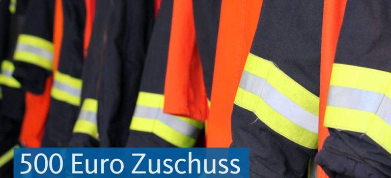 Land Hessen unterstützt Freiwillige Feuerwehr in Rüdigheim mit 500 Euro
