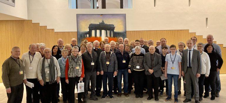 CDU-Mitglieder erkunden den Landtag