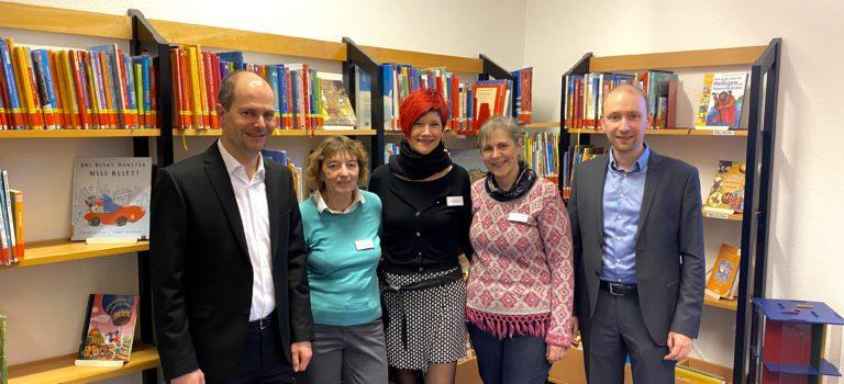 9.200 Euro Zuschuss vom Land für die Volksbücherei Freigericht
