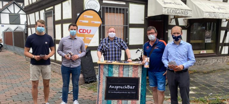 AnsprechBar: Max Schad sucht den Dialog vor Ort