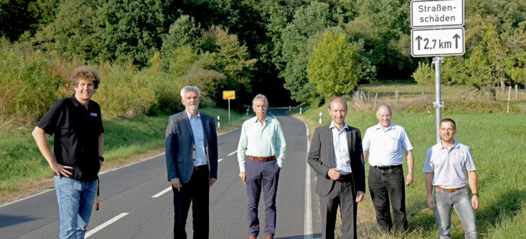 Landesstraße zwischen Hain-Gründau und Breitenborn soll für 1 Million Euro saniert werden