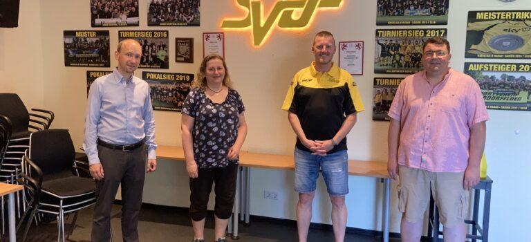 Land Hessen unterstützt SV Oberdorfelden mit 500 Euro