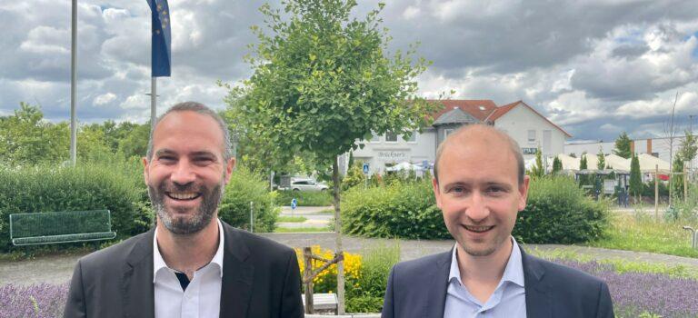 Max Schad zum Antrittsbesuch bei Andreas Bär